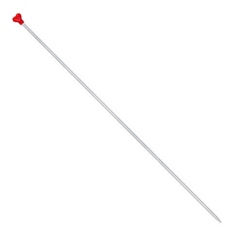 ADDI Aluminium Knitting Needles - long 40cm